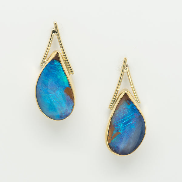 Jennifer-Kalled-australian-boulder-opal-lily-earrings-post-kalled-gallery