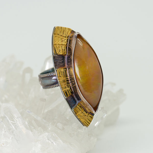 Julie-Shaw-ring-sterling-silver-22k-gold-Ethiopian-opal