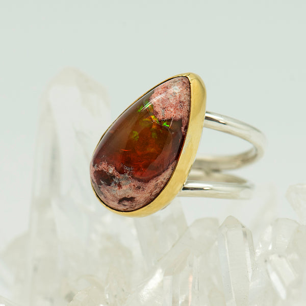 Jennifer-Kalled-Mexican-opal-22k-sterling-silver-ring