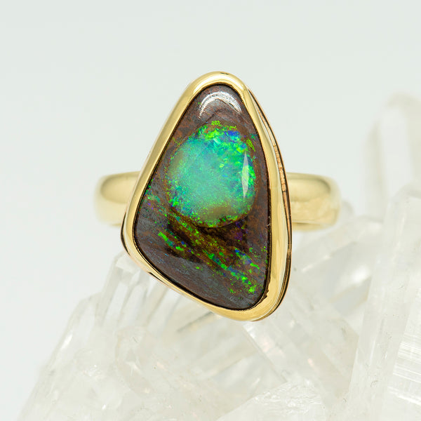 Jennifer-Kalled-boulder-opal-ring-22k-18k-14k_gold