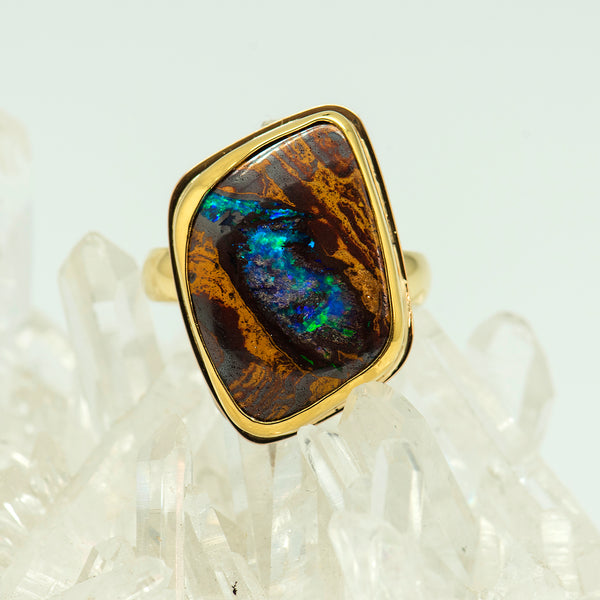 Jennifer-Kalled-opalized-wood-ring-22k-18k-gold