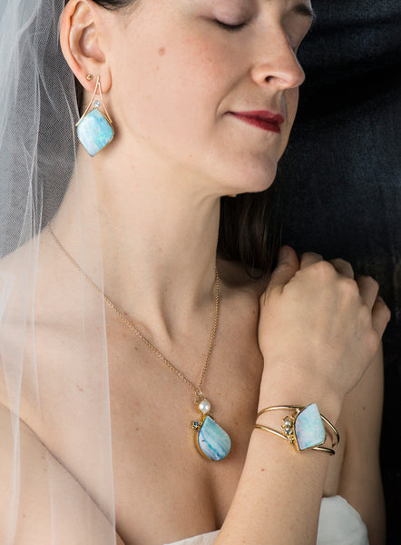 boulder-opal-aquamarine-gold-bridal-kalled