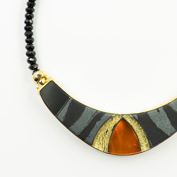 hematite-18k-gold-mexican-opal-18k-gold-beads-spinel-onyx-necklace-Jennifer-Kalled