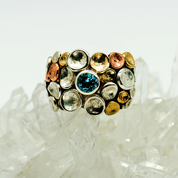 Tamara-Kelly-sterling-silver-pebbles-topaz-ring-kalled-gallery