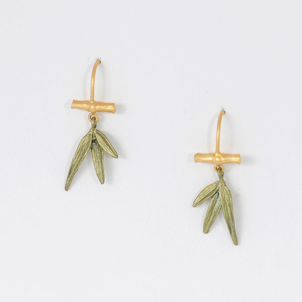Michael-Michaud-Silver-Seasons-Bamboo-wire-earrings