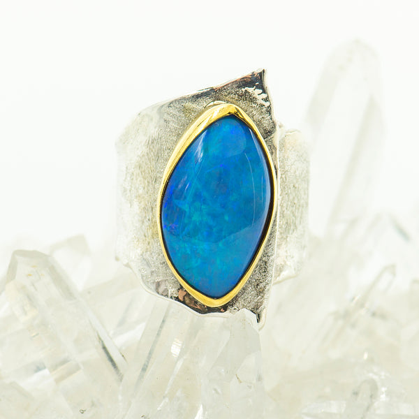 australian-boulder-opal-blues-22k-gold-sterling-silver-Jennifer-Kalled