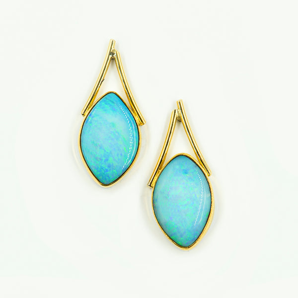 australian-boulder-opal-22k-18k-gold-post-earrings-Jennifer-Kalled