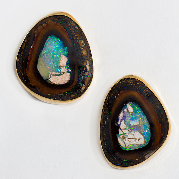 Jennifer-Kalled-boulder-opal-post-earrings