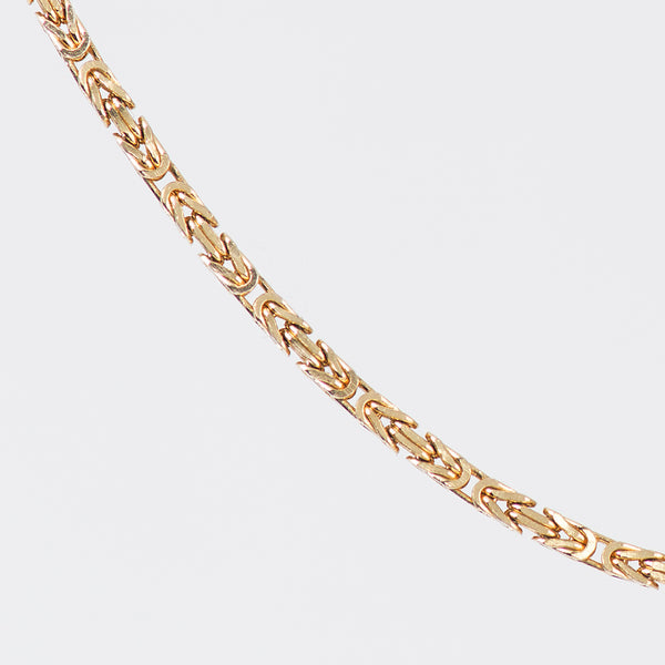 gold-byzatine-chain-kalled