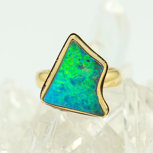 Jennifer-Kalled-boulder-opal-ring-22k-18k-gold