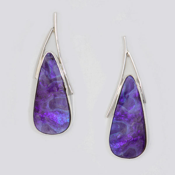 Boulder-opal-sterling-silver-santorini-post-earring-kalled