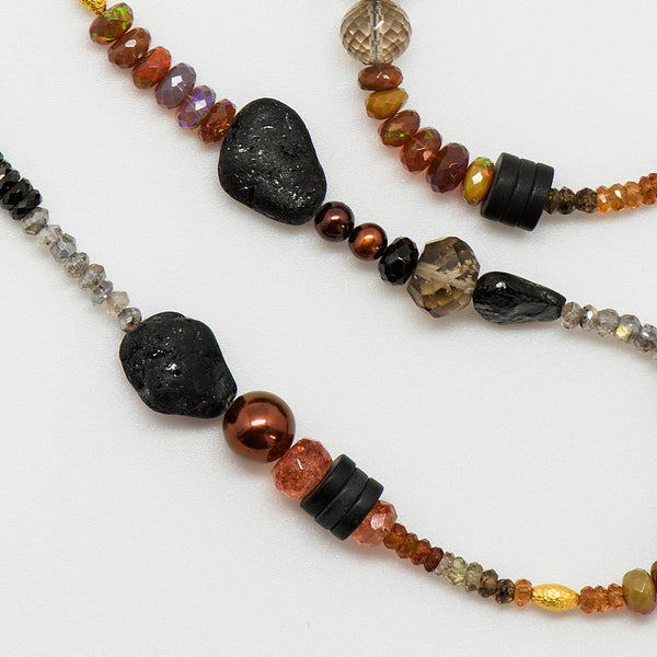 Jennifer-Kalled-gem-beaded-necklace-browns