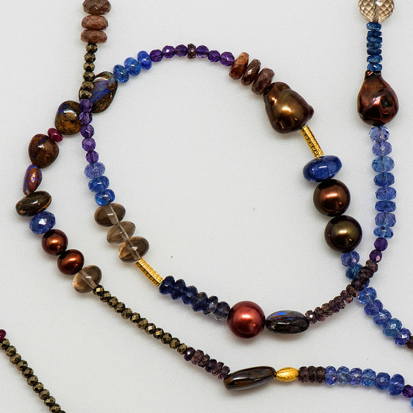 Jennifer-Kalled-gem-beaded-necklace-purples