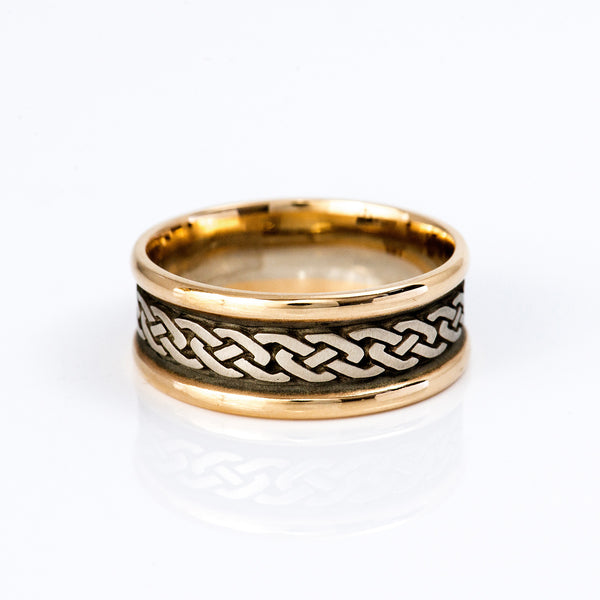 Studio-311-yellow-white-gold-infinity-knot-ring