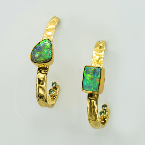 Jennifer-Kalled-22k-18k-gold-hoop-australian-opal-earrings