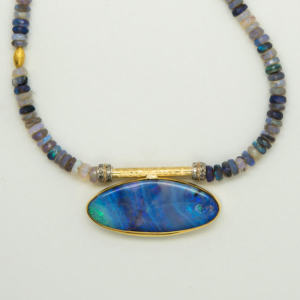 Jennifer-Kalled-Black-opal-22k-18k-gold-pendant-necklace