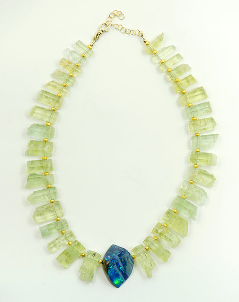 opal-beryl-18k-gold-beads-necklace-Jennifer-Kalled