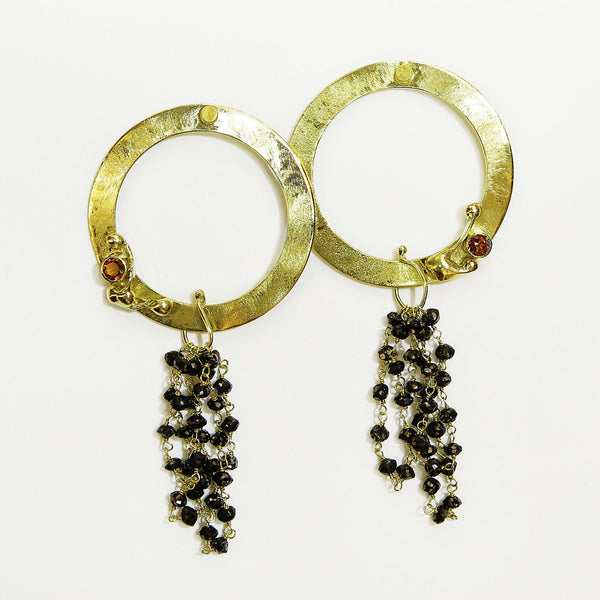 Black-diamond-earrings