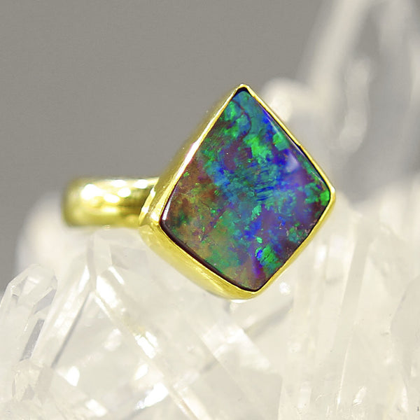 Jennifer-Kalled-Boulder-Opal-Ring