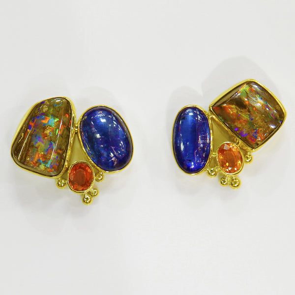Boulder-opal-earrings-Jennifer-Kalled