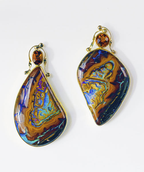 Koroit Opal Earrings
