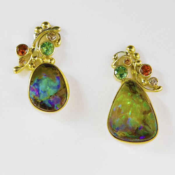 Boulder-opal-earrings-gold-kalled