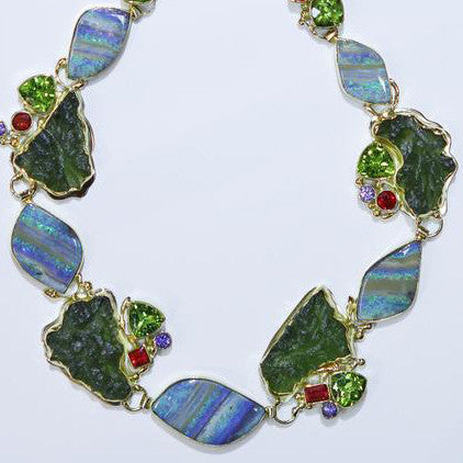 Boulder-opal-necklace-gold-kalled