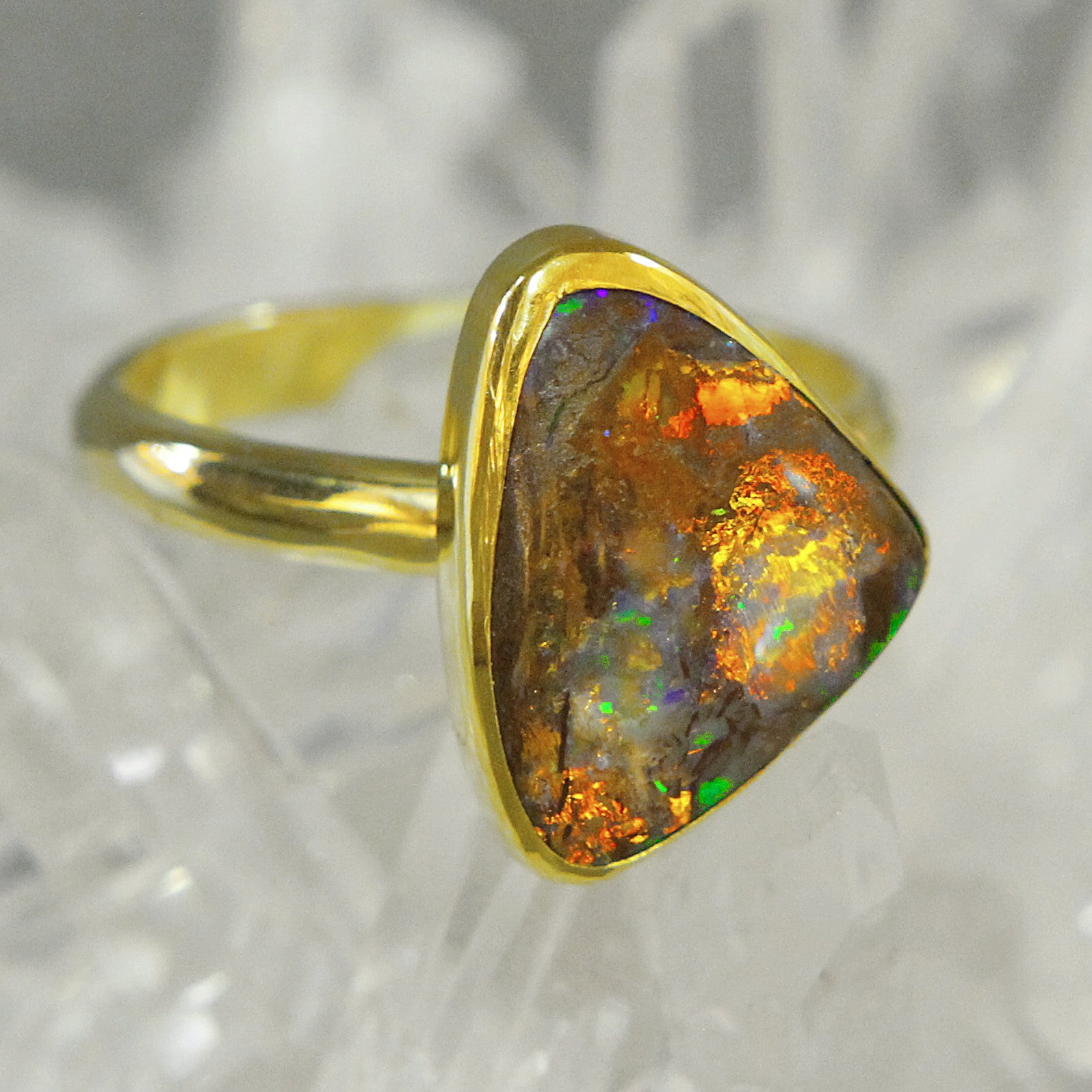 rings opal ring facets image diamond products boulder of earth engagement