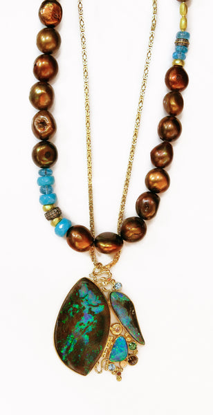 boulder-opal-pendant-gold-kalled-chocolate-pearl