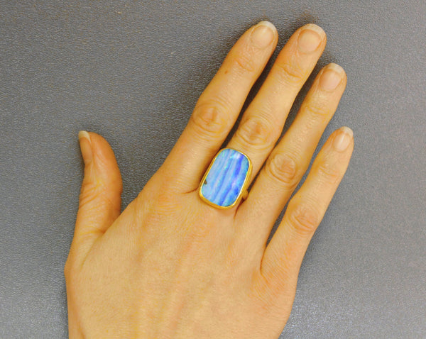 Boulder-opal-ring-gold-kalled-kasso