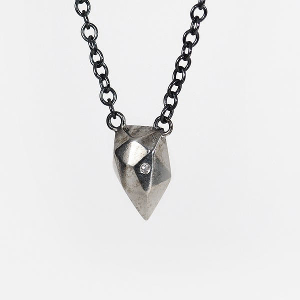 Corey-Egan-oxidized-sterling-silver-diamond-necklace