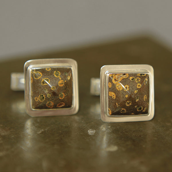 Agate-Cuff-Links-Sterling-Silver