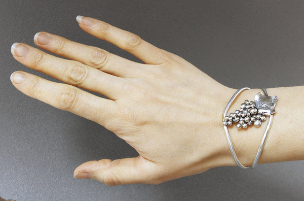 Sterling-silver-grape-cuff-bracelet-kalled
