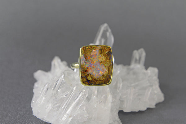 boulder-opal-18k-gold-22k-gold-ring-kalled