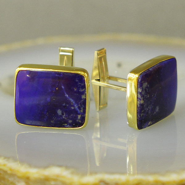 Lapis-cuff-links-kalled-gold