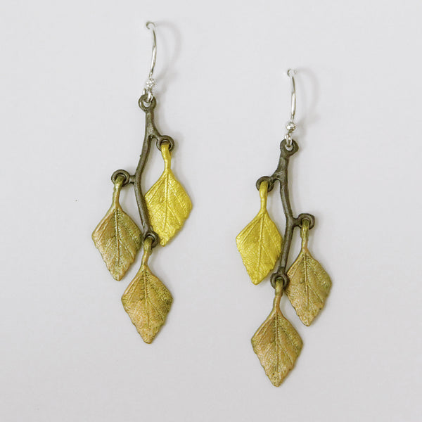 Michael-Michaud-Autumn-Leaf-earrings