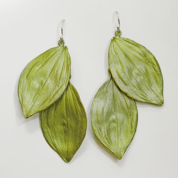 Michael Michaud Solomon Seal Earrings