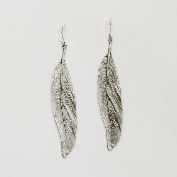 Michael-Michaud-feather-earrings