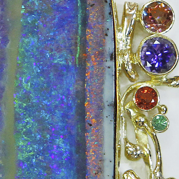 striped-boulder-opal-orange-sapphire-tanzanite-22k-gold-pendant-kalled