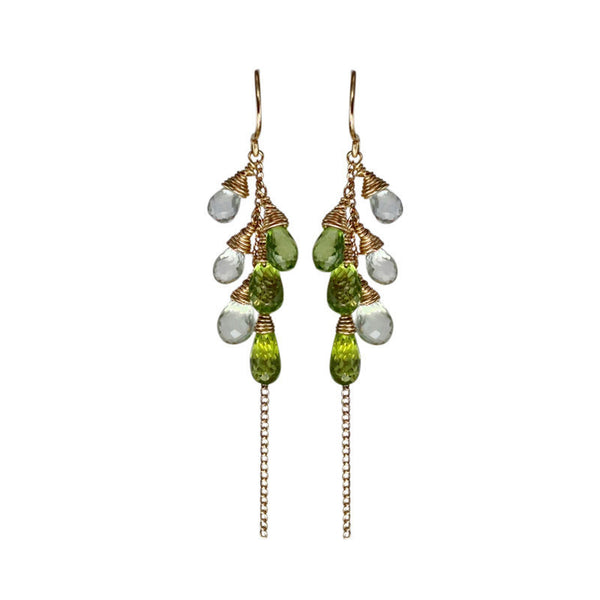Sara-Danielle-Green-Earrings