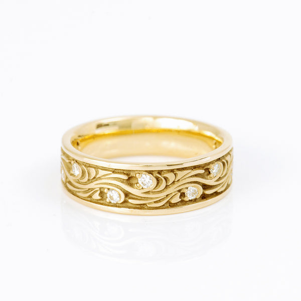 Studio-311-Starry-Night_yellow-gold-diamond-ring