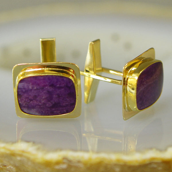 sugilite-cuff-links-gold-kalled