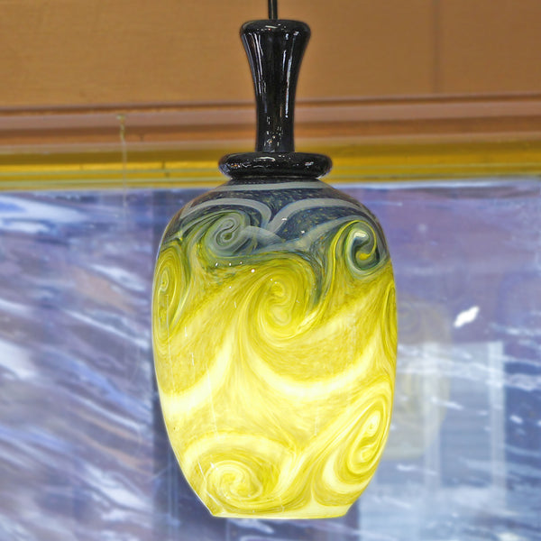Henry-Levine-starry-night-pendant-lamp