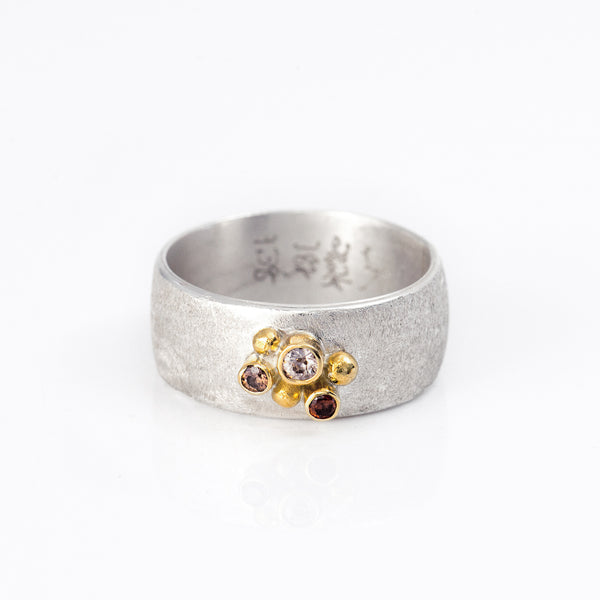 Zircon-zoe-ring-kalled-sterling-silver-gold