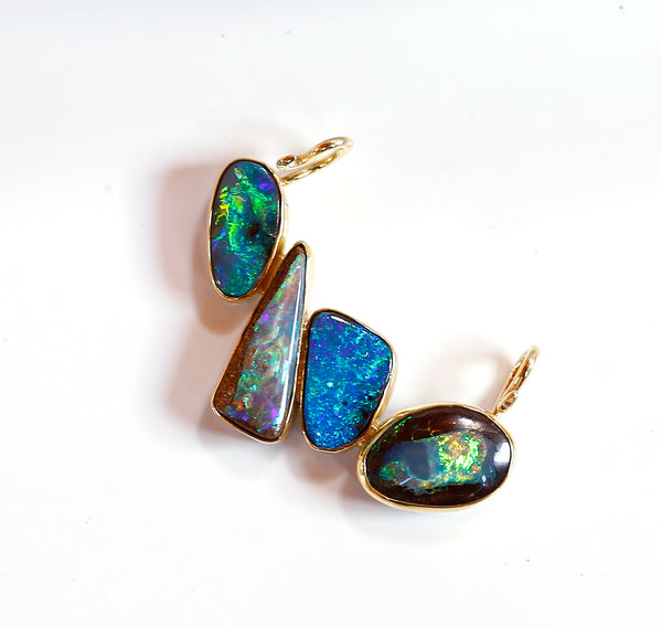 Boulder Opal Slide Necklace