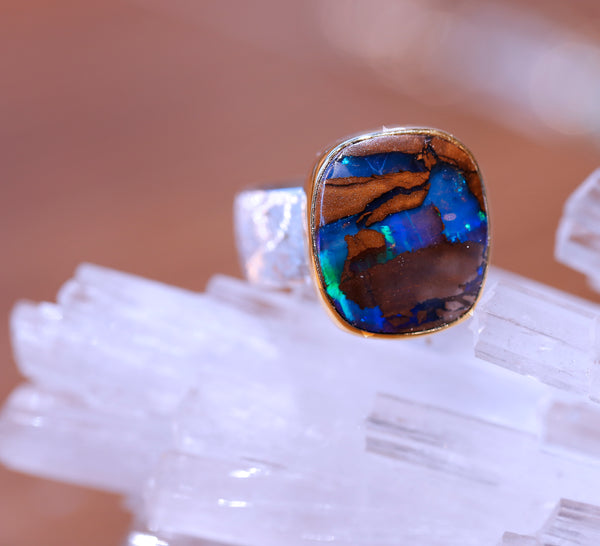 boulder-opal-matrix-silver-gold-ring-kalled-kasso