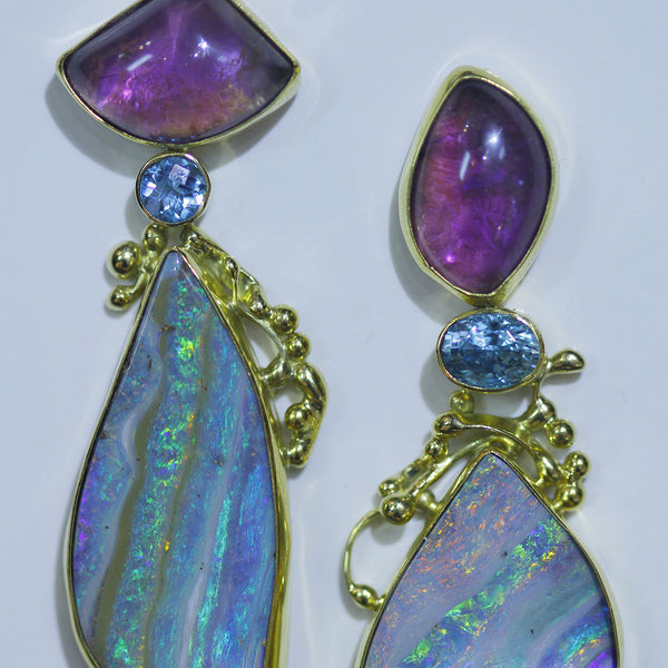 Boulder-opal-earrings-amethyst