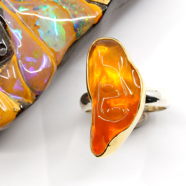 mexican-opal-ring-gold-silver-kalled