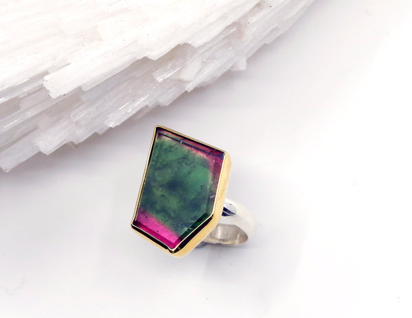 watermelon-tourmaline-ring-22k-gold-sterling-silver-half-round-band