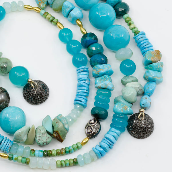 turquoise-amazonite-black-opal-beaded-necklace-kalled